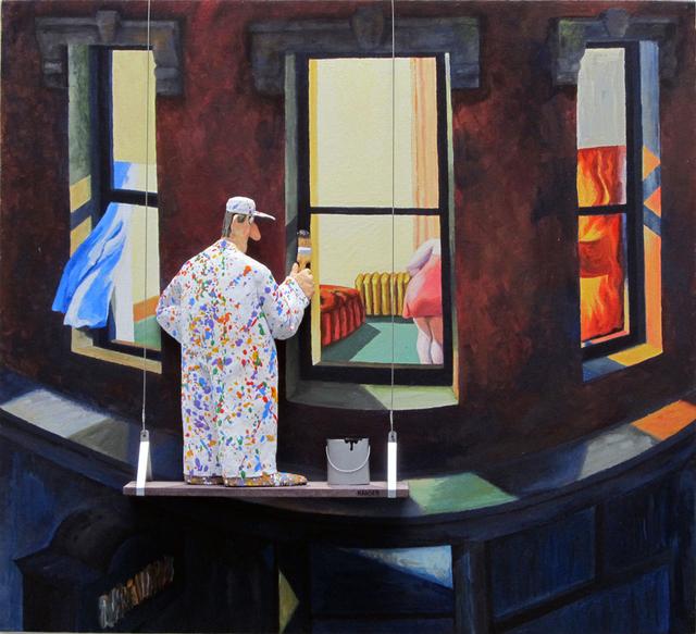 Stephen Hansen, 'Night Windows (Edward Hopper)', 2015, Zenith Gallery