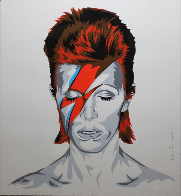 Mr. Brainwash, 'Bowie', 2016, DANE FINE ART