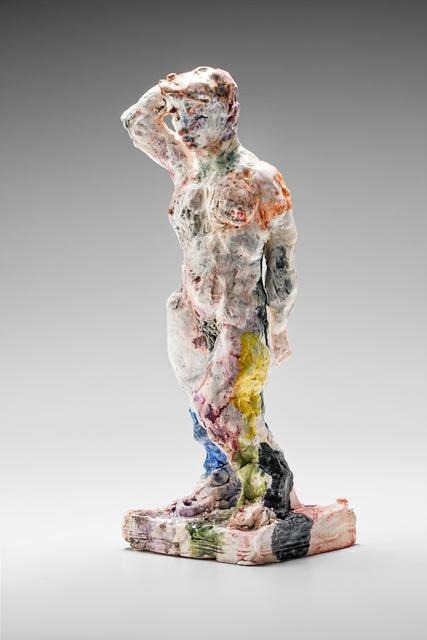 , 'Statue (standing, arm raised),' 2015, Niagara Galleries