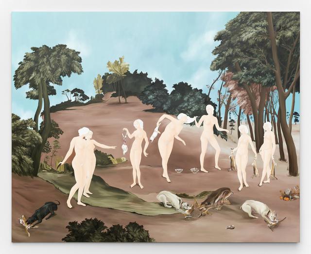 Sanam Khatibi, 'Rivers in our mouths', 2017, Rodolphe Janssen