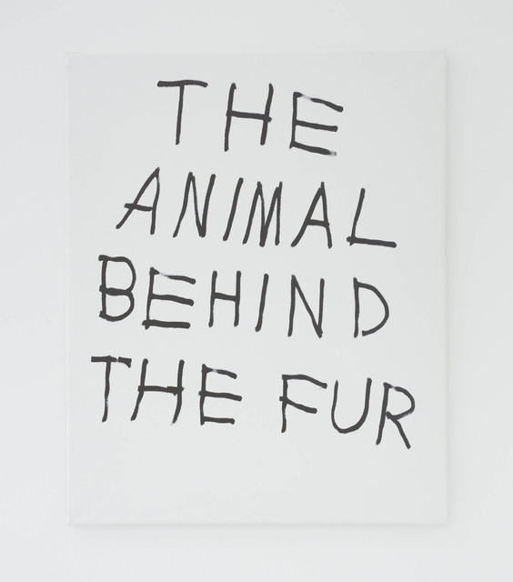 , 'THE ANIMAL BEHIND THE FUR,' 2016, The Hole