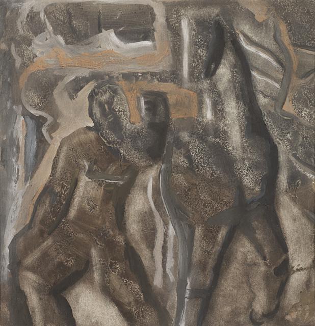 Mario Sironi, 'Composizione con cavallo', 1940 circa, Il Ponte