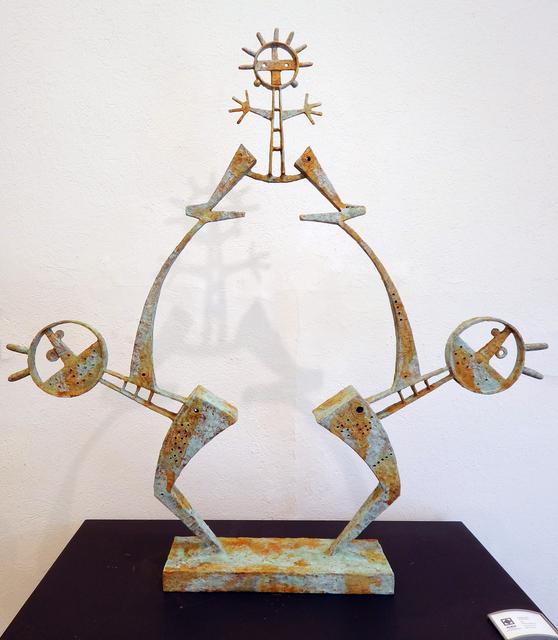 , 'Los tres de Fiesta,' 2019, Aura Galerias