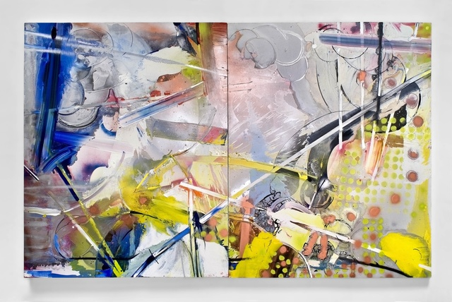 , 'Alice In the Year of the Rabbit (Diptych),' 2017, LAUNCH LA