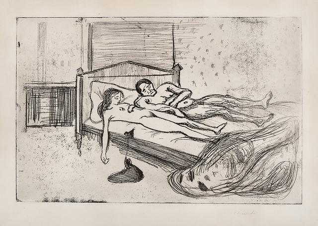 , 'Dobbeltselvmord (Double Suicide, Dead Lovers, The Dead),' 1901, John Szoke