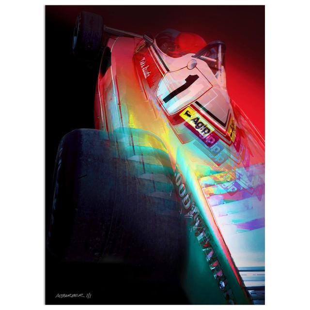 , 'Niki Lauda - Ferrari Formula 1 | Automotive | Car,' 2019, Whyte Fine Art