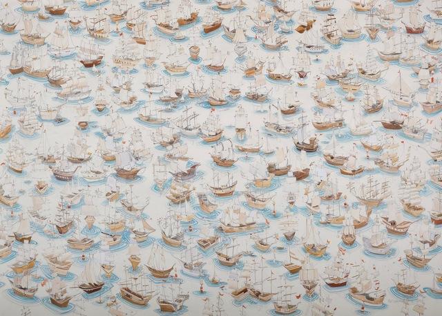 , 'Sweet Fleet,' 2013, Kopeikin Gallery