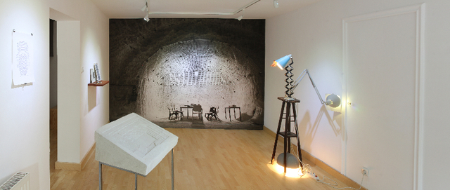 , 'Flying Blind (exhibition view),' 2013, TRAPÉZ