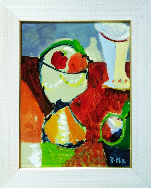 Sotos Zachariadis, 'Fruitball2', 2020, Painting, Oil on canvas, nord.