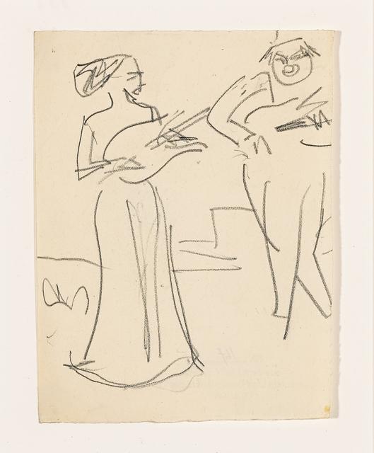 , 'Musikanten (Musicians),' 1910, Galerie Herold