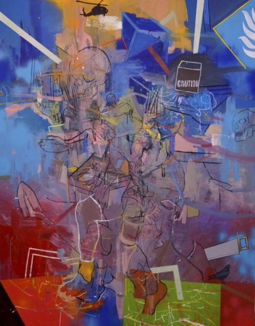 Thameur Mejri, 'Untitled (Growing Enemy)', 2018, Gallery 1957
