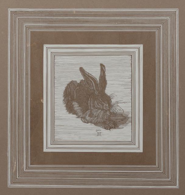 , 'After Young Hare by Albrecht Dürer (1502),' 2018, Bernice Steinbaum Gallery