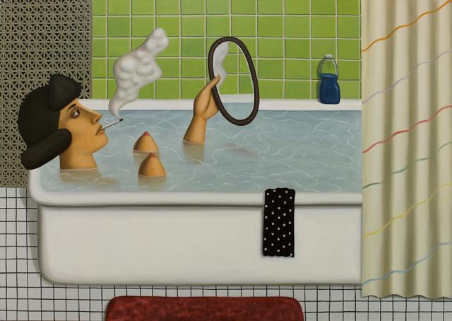 , 'Reflections,' 2014, Mary Mary