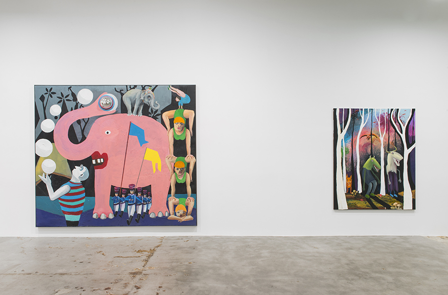 Installation view 2015