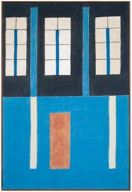 Alfredo Volpi, 'Fachada [Facade]', ca. 1950, Galeria Marília Razuk