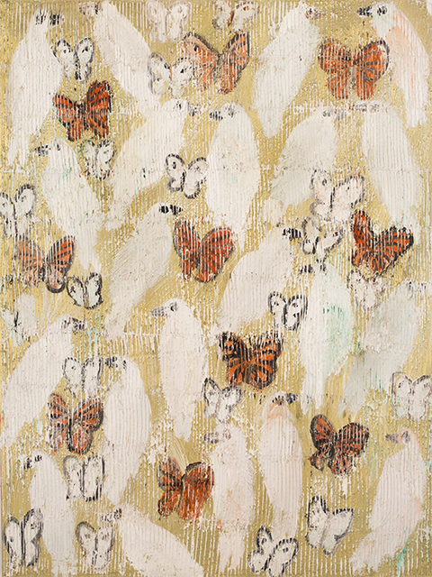 , 'Frittilary & Doves,' 2015, Jessica Hagen Fine Art + Design