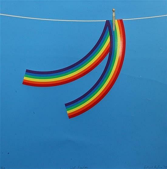 Patrick Hughes, 'Wet Rainbow', 1979, Thurston Royce Gallery of Fine Art, LTD.