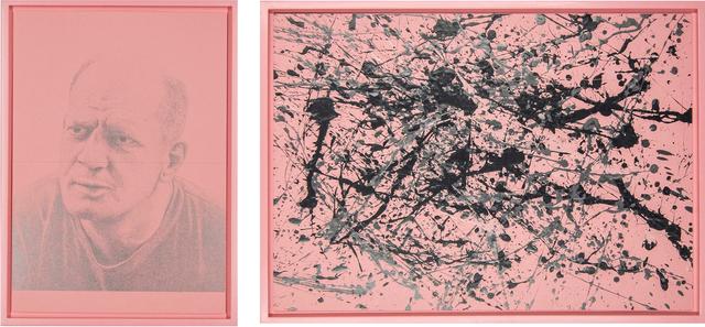, '2 x Jackson, Duzfreund (Part 1), Kann man nicht kopieren (Part 2),' 2016, Galerie Thomas Schulte