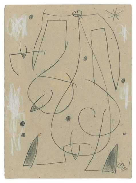 , 'Femme, oiseau, étoile, constellation (Woman, bird, star, constellation),' , BAILLY GALLERY