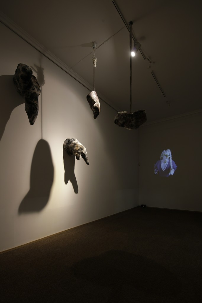 "Tori Wrånes, ""Ældgammel Baby 1"", 2017. Video installation. Installation view: 'Ældgammel Baby', Kunsthal Charlottenborg, 2017. Photo by Anders Sune Berg."