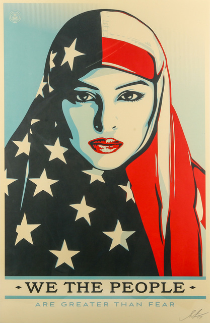 Shepard Fairey, 'We Are The People', 2017, Chiswick Auctions
