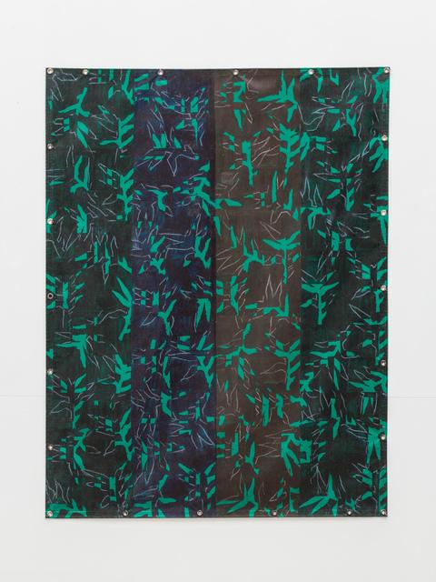 , 'Bâche verte ,' 1993, La Forest Divonne