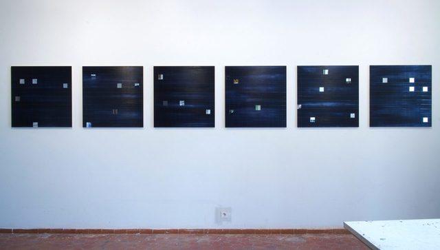 """, '""""Other Worlds 1-6"""",' 2017, Galerie Dutko"""