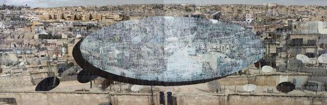 , 'Aleppo II,' 2016, Zilberman Gallery