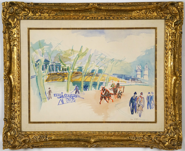 , 'Au Bord de la Seine,' , Trinity House Paintings