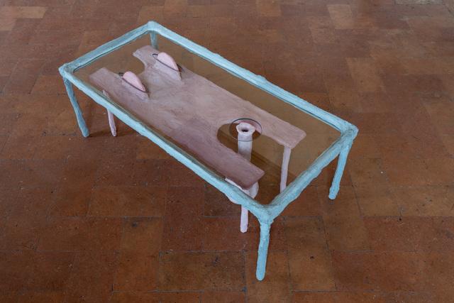 Oren Pinhassi, 'Untitled', 2019, Sculpture, Metal, plaster, glass, Palazzo Monti