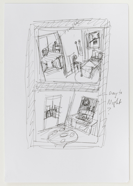 , 'lavender - double view,' 2019, Elizabeth Harris Gallery