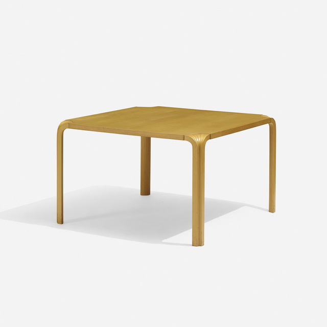 Alvar Aalto, 'X-Leg Table', 1954, Wright