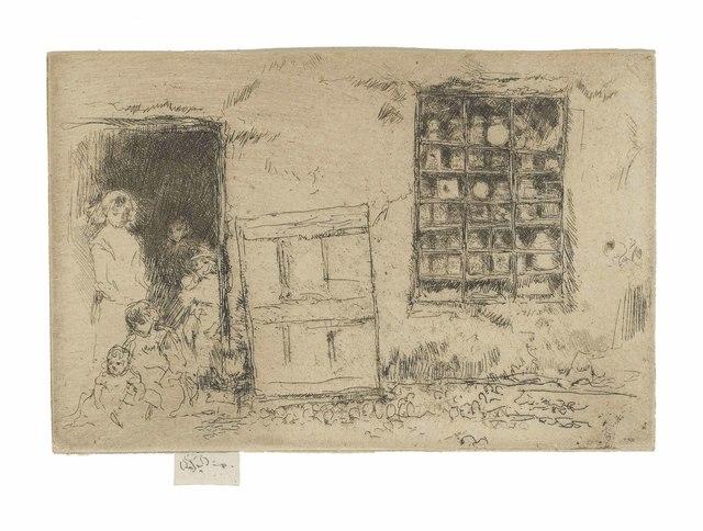 James Abbott McNeill Whistler, 'The Village Sweet Shop', 1886, Christie's