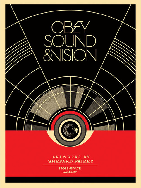 Shepard Fairey, 'Obey Sound & Vision', 2012, DIGARD AUCTION
