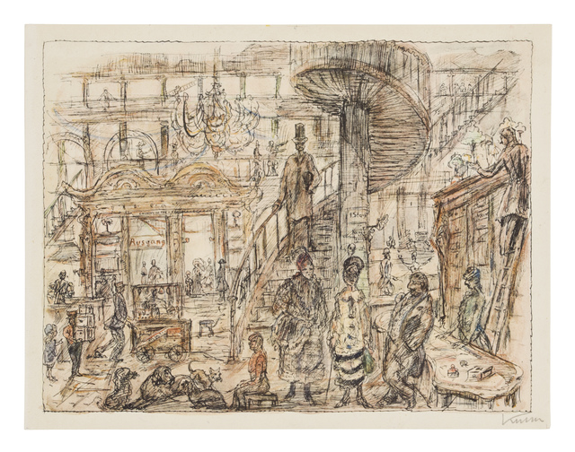 , 'The Department Store,' 1922, Galerie St. Etienne