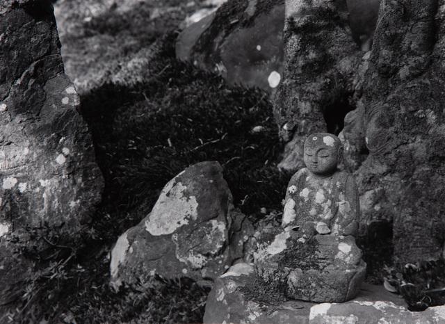 Paul Caponigro, 'Stone Buddha, Renge-Ji Temple, Kyoto, Japan', 1976, Pucker Gallery