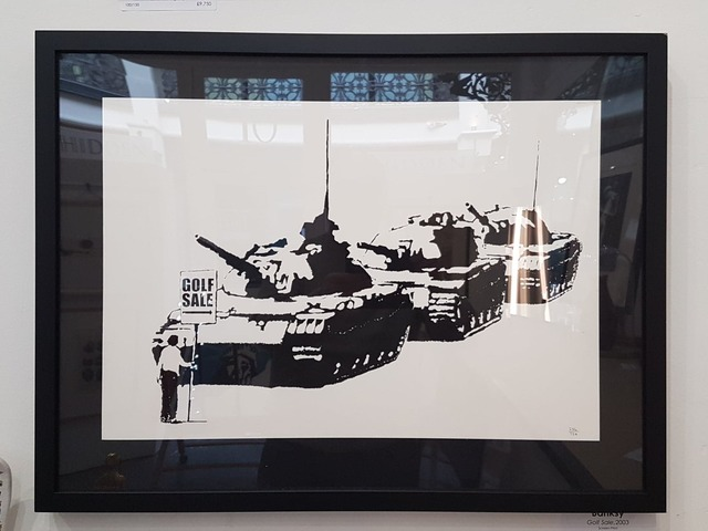 Banksy, 'Golf Sale', 2003, Hidden