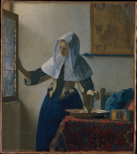 Johannes Vermeer, 'Young Woman with a Water Pitcher', ca. 1662, The Metropolitan Museum of Art