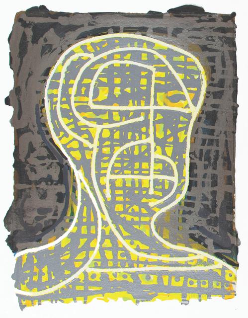 Nicole Eisenman, 'Yellow Head Number 1', 2019, Dieu Donné Benefit Auction