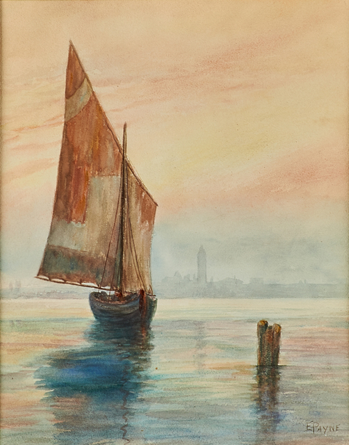 Edgar Alwin Payne, 'Untitled (Venetian Scene)', Rago