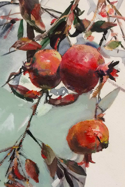 , 'Pomegranates,' 2010, Robert Kananaj Gallery