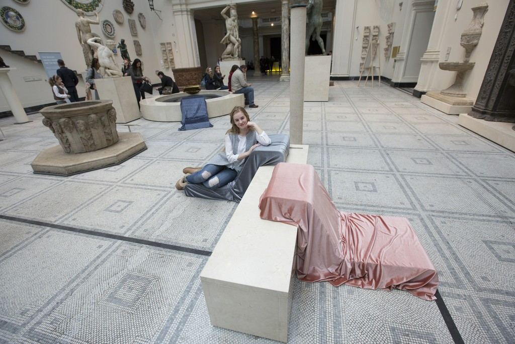 Installation shot 'All of this Belongs to You' (c) Victoria and Albert Museum, London