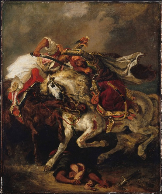, 'Combat of the Giaour and Hassan,' 1835, The National Gallery, London
