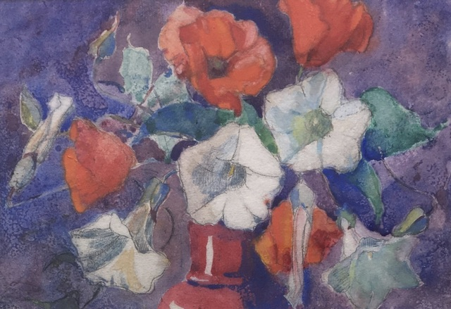 "Margaret Jordan Patterson, 'Study for ""Poppies and Convolvulus""', ca. 1925, Bakker Gallery"