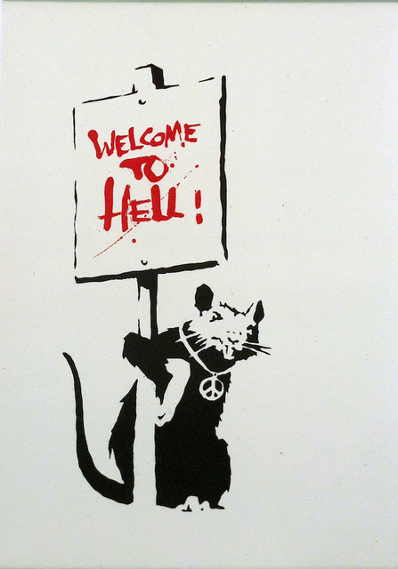 Banksy, 'Welcome to Hell', 2004, Tanya Baxter Contemporary