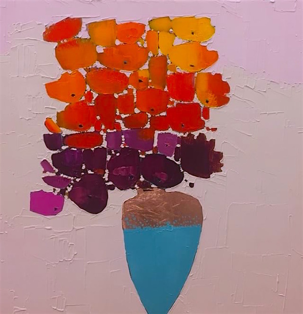 , 'Fiesta,' 2018, Parlor Gallery