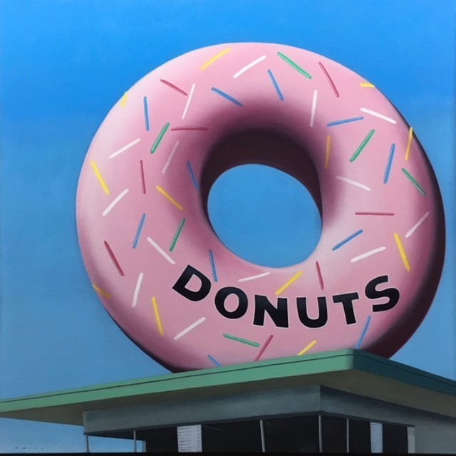 , 'Donut Shop,' 2017, CODA Gallery