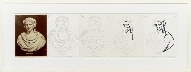 , 'Busto di dona ignato,' 1974, Kadel Willborn