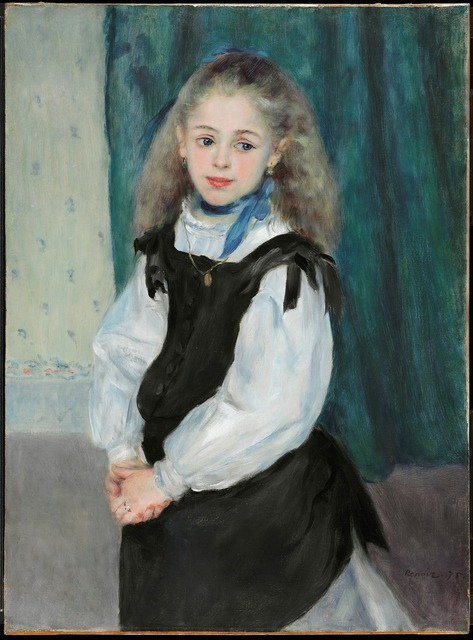 , 'Portrait of Mademoiselle Legrand,' 1875, The National Gallery, London