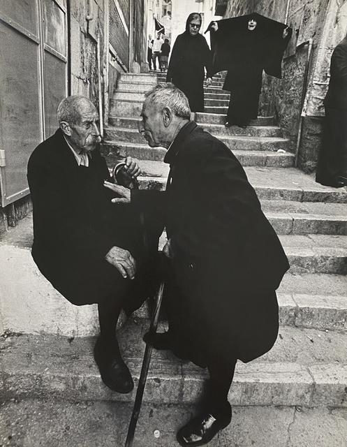 Micha Bar-Am, 'Alley in Jerusalem', 1972, Photography, Gelatin silver print, PDNB Gallery